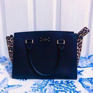 🖤🤎 Kate Spade Leopard Lana Crossbody Bag